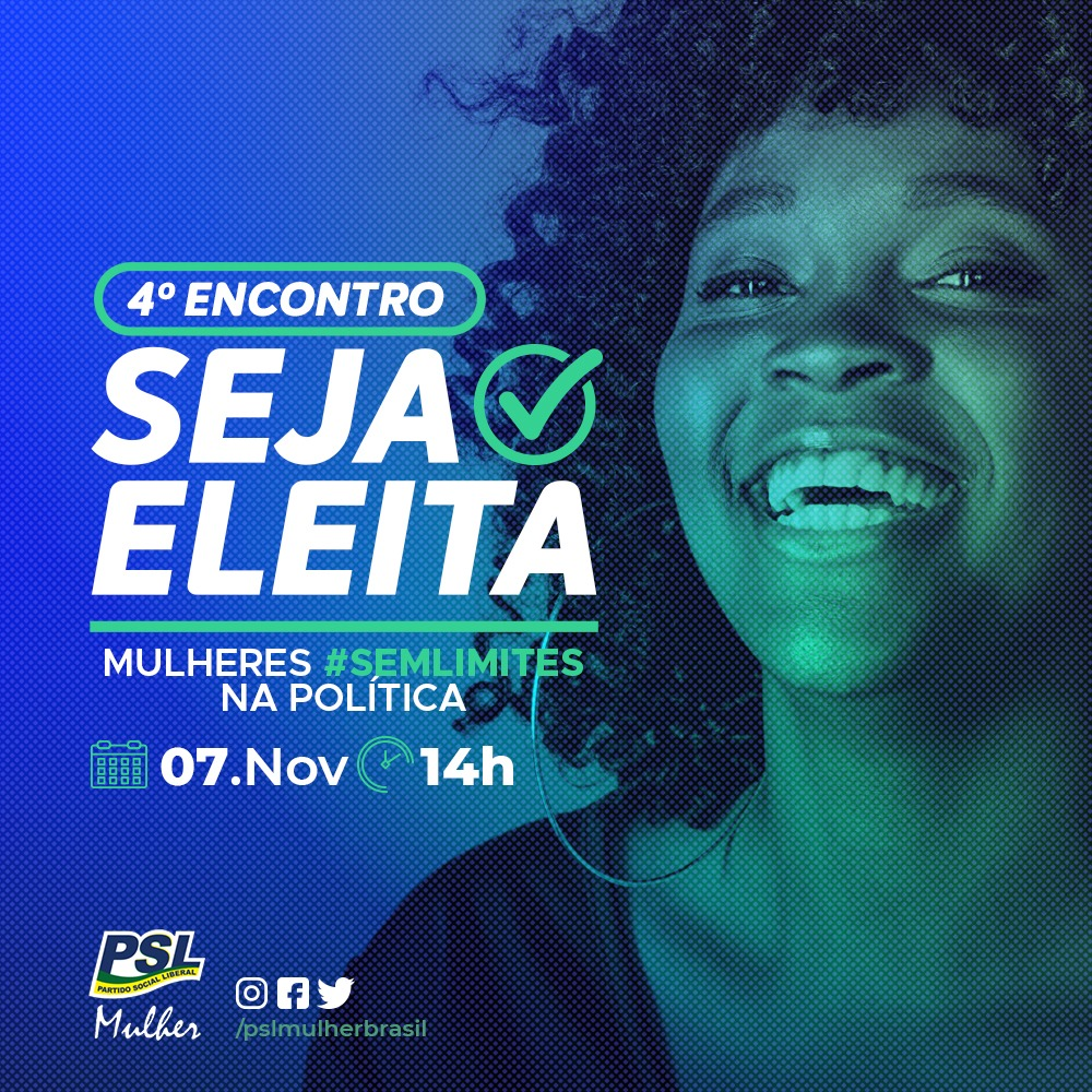 Quarto Encontro Seja Eleita | 07/11/2020