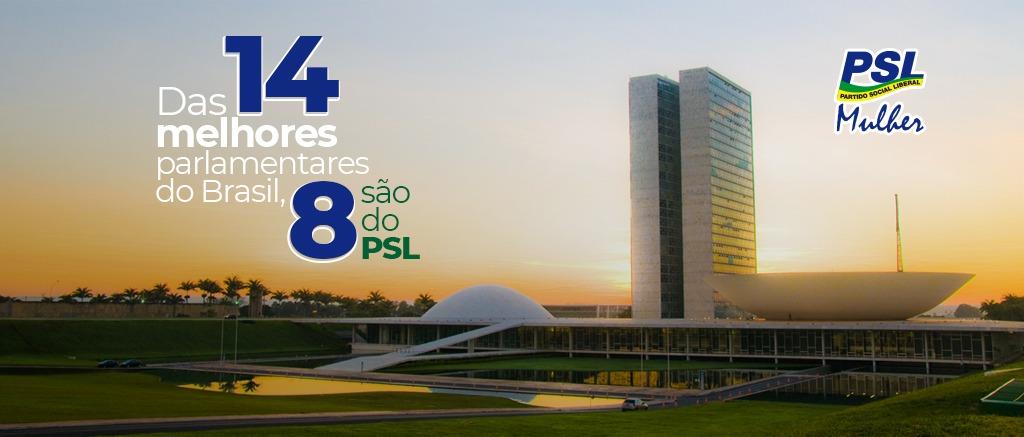 PSL Mulher representa mais de 57% das parlamentares que fizeram a diferença em 2020